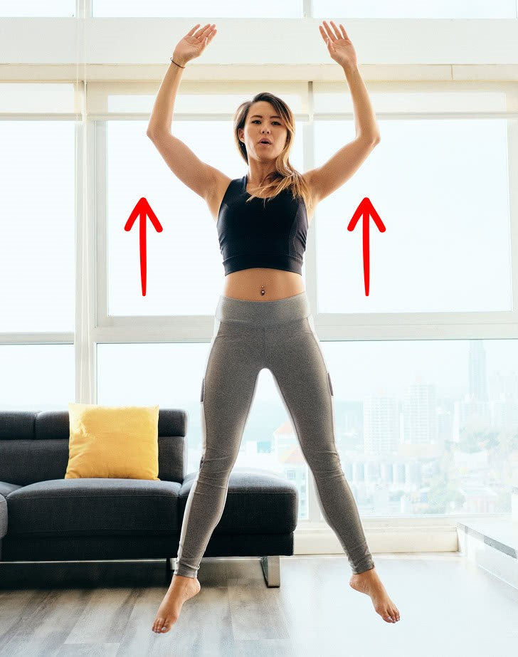 Suitable for aerobic exercise at home